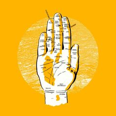 Your Hands are Actually Maps of SF/Bay Area - The Bold Italic - San Francisco