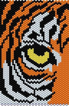 tiger's eye - BEADED BANNERS PAGE 3