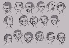 Character creation, character design, facial expressions, art art, ca Character Design Challenge, Character Design Cartoon, Character Design References, Character Design Inspiration, Expression Sheet, Cartoon Expression, Cartoon Faces, Cartoon Drawings, Art Reference Poses