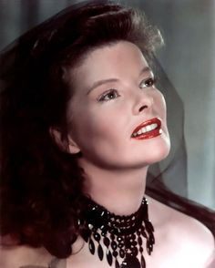 """Kathryn Hepburn. Oh my god...this looks like my mother in her glorious 30's...and she is """"Still"""" a hot mama today in her """"...shhh"""" years."""