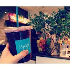 matya_peanuts ♥ (21) 100% pure organic acai smoothie!! ここのジュースほんま好き♡♡めっちゃ美味しいよ(*^^*)