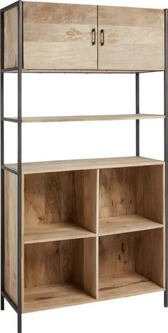 Structure Metal, Shelving, Bookcase, The Unit, Home Decor, Tall Shelves, Modern Interior, Industrial Style, Arredamento