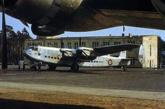 avro york berlin airlift - RAF Avro AV.685 York, MW318, c/n?, at Berlin-Gatow. From archive of Ralf Manteufel