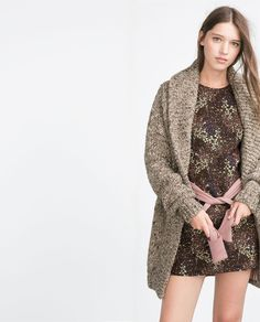 ZARA - WOMAN - FLORAL JACQUARD DRESS