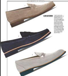 Este mes en Robb Report te presentamos una selección de Loafers, el calzado cómodo y elegante.