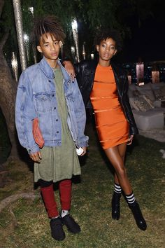 Jaden and Willow Smith   - HarpersBAZAAR.com