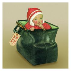 Jessie Willcox Smith Greeting Cards : Baggage – Challenge & Fun, Inc. Christmas Images, Vintage Christmas, Christmas Cards, Xmas, Inside Art, Illustrations Posters, Vintage Illustrations, Vintage Greeting Cards, Vintage Handbags