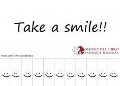 Genial iniciativa del Museo del Libro Fadrique de Basilea. #takeasmile http://bit.ly/IWABil