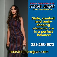 strips so that your curves look perfect. Houston, Jeans, Curves, Summer Dresses, Stone, Fashion, Leotards, Women, Moda