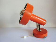 Strahler - Lampe  70er Jahre   von susduett auf DaWanda.com