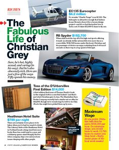 fifty shades christian grey Signs the world is ending: Fifty Shades of Grey magazine