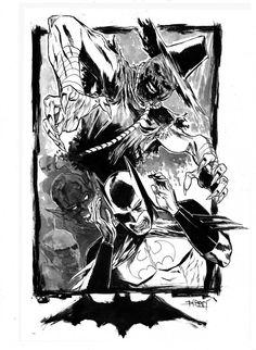 Scarecrow commission by ChristianDiBari on DeviantArt Scarecrow Batman, Scary Scarecrow, Dr Jonathan Crane, Gotham Villains, Arkham Asylum, Batman Vs, Inspiration For Kids, Dark Knight, Rogues