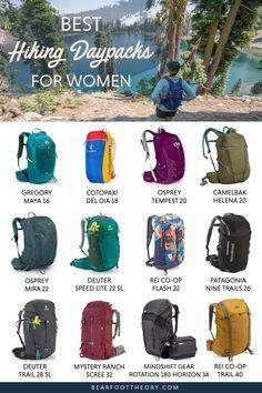 Best Hiking Daypacks for Women in 2021