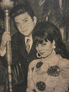 Zeki Müren ve Türkan Şoray (Ses Dergisi, 1967) #istanlook