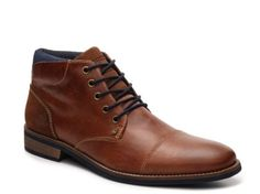 all white mens watches, mens gold and black watches, mens watches - Men's Bullboxer Tapps Cap Toe Chukka Boot - Cognac