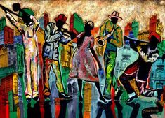 african jazz art - Google Search