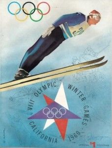 California Cool:  1960 winter olympics @ squaw valley