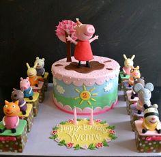 Peppa Pig Cake Ideas : Friends Cake