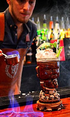 It might not be #TikiTuesday, but we are on fire!