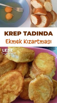 Turkish Breakfast, Turkish Recipes, French Food, Delicious Desserts, Breakfast Recipes, French Toast, Brunch, Food And Drink, Bread