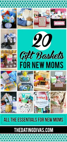Gift baskets every mom would love!! Such great ideas!