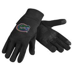 Florida Gators Team Logo Technology Touch Texting Gloves