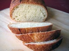my daily bread - pinning this because The Fresh Loaf has tons of good-looking bread recipes.  This one seems to be the basic recipe, but there are lots of variants and others.  Yum.