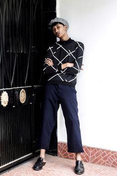 Thequirkyminimal by Kangkan Rabha, Seoul fashion week inspired look menswear, Korean style, Kpop, Streetstyle, KPop style