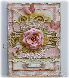 Such a Pretty Mess: Cardmaking with Bo Bunny's Primrose & Kraft Wood