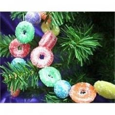 We hang this on our sugarplum dream garlands on the kids' headboards, add lights & tie on candies...fun tradition in our home!