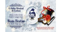 Votos de Boas Festas do Salão Musical de Lisboa