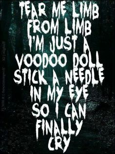 Voodoo-Ghost Town, this is probably my favorite song by them