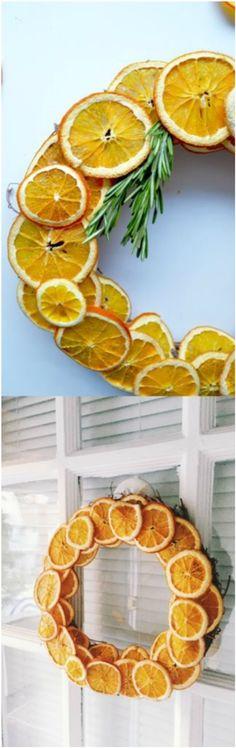 Dried Citrus Wreath Decoration Dwellingdecor