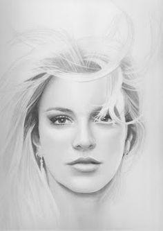 Britney Spears drawing    Artist: Unknown  #BritneySpears