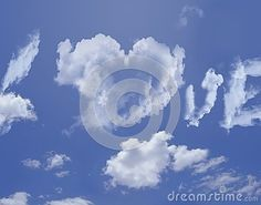 Clouds love by Graciela Rossi, via Dreamstime