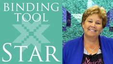 The Binding Tool Star Quilt: Easy Quilting Tutorial with Jenny Doan of M...