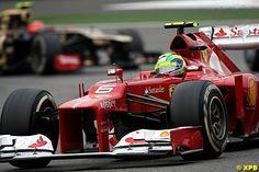 Ferrari - Felipe Massa at F1 Race in China