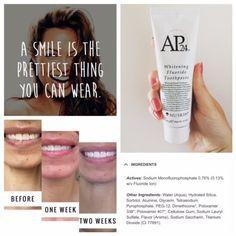 NuSkin AP 24 Whitening flouride toothpaste - Another! Ap 24 Whitening Toothpaste, Nuskin Toothpaste, What Is Tooth Decay, Permanent Laser Hair Removal, Toenail Fungus Treatment, Teeth Bleaching, Healthy Teeth, Healthy Life, Teeth Care