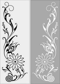 Glass Partition Designs, Window Glass Design, Frosted Glass Design, Frosted Glass Door, Glass Painting Designs, Paint Designs, Cnc Cutting Design, Family Wall Decor, Flower Logo