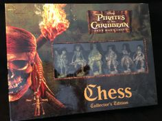 Disney Pirates of the Caribbean Dead Man's Chest Chess Game Collectors Edition #Disney