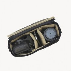 JILL·E Camera Insert -fits easily in your favorite carry bag, fits 1 DSLR camera body and 1-3 moderately sized lenses, batteries, memory cards and accessories.