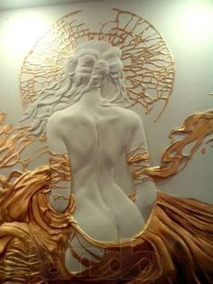 Photo - Various - kunst Plaster Sculpture, Plaster Art, Wall Sculptures, 3d Wall Art, Mural Art, Art Amour, Erotic Art, Oeuvre D'art, Clay Art