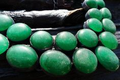 SALE green agate necklace Brazilian jewelry by BeijoFlor on Etsy, $139.00