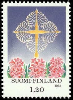 Joulupostimerkki 1985 1/2 Good Old Times, Small Words, Small Art, Stamp Collecting, Old Toys, All Things Christmas, Postage Stamps, St Thomas, Flower Stamp