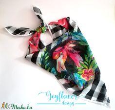 flamingo - nyári estékre - egyedi női muszlinkendő - vízfesték hatású grafikával Gym Bag, Bags, Handbags, Bag, Totes, Hand Bags