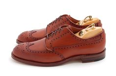 Alden wingtip dress shoes