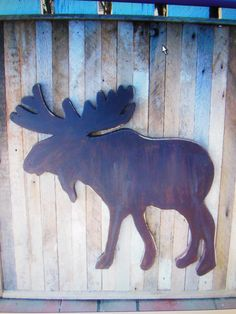 Handmade moose I make $ 30.00 each