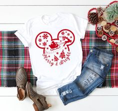 Excited to share the latest addition to my shop: Disney Christmas Shirt- Disney Christmas Family Shirt - Disney tshirt - Family Disney Shirt - Disney family matching - Disney women shirt Disney Christmas Shirts, Disney Shirts For Family, Disney Tees, Disney Family, Christmas Outfits, Disneyland Christmas, Etsy Christmas, Christmas Sweaters, Family Christmas