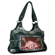Trenditions Cowgirl Up Rose Satchel, 1105079