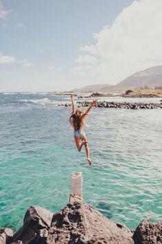 Love the sea! Splashy splash!